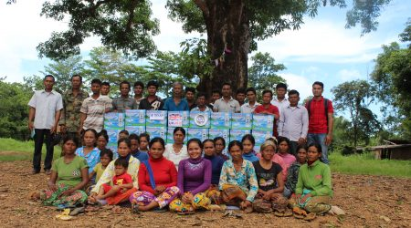 Awareness raising and how to use, maintanance and provide to extream poor people and Anlongchrey village5