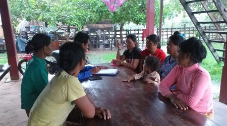Data collection for gender study at Spong village (3)