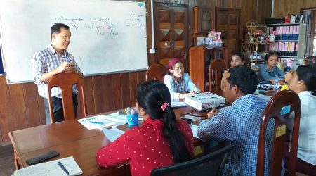 Data collection training for gender study to CO and CDF at DPA ST