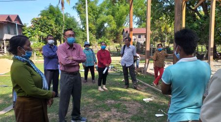 ED visit AC office contruction at Koh Sralay