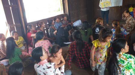 Hand Washing at KamPhun village