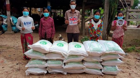 Provide Rice seed to Rice producer group at Katot village