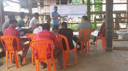 Training CPA inventory at Anlong Chrey village 1
