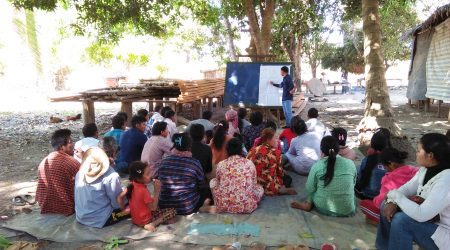 Training on Cow rearing to FFD at Anlong Saam village (1)