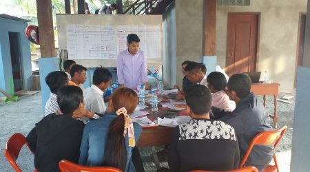 Training on role responsibility, Market stractegy and develop besiness plan of 3 water station, Provinial level (3)