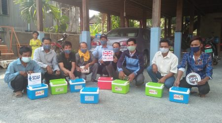 Vaccination campaigne to Cow and chicken 23 villages (1)