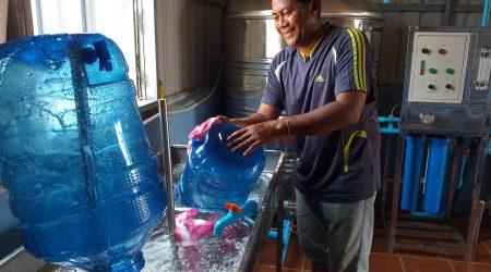 Water Station at Anlong Kramoun village 2