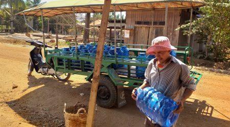 Water Station at Anlong Kramoun village